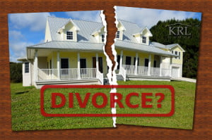 Selling your divorce house due to divorce